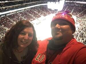 Tony P. attended Arizona Coyotes vs. Vegas Golden Knights - NHL on May 1st 2021 via VetTix
