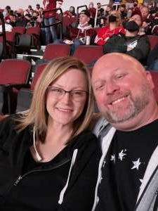 B attended Arizona Coyotes vs. Vegas Golden Knights - NHL on May 1st 2021 via VetTix