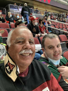 Steve attended Arizona Coyotes vs. Los Angeles Kings (correction) - NHL on May 3rd 2021 via VetTix