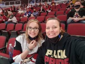 Koni  attended Arizona Coyotes vs. Los Angeles Kings (correction) - NHL on May 3rd 2021 via VetTix