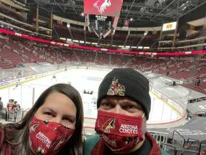 John attended Arizona Coyotes vs. Los Angeles Kings (correction) - NHL on May 3rd 2021 via VetTix