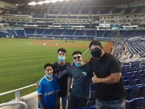 Ray R. attended Miami Marlins vs. Arizona Diamondbacks - MLB on May 5th 2021 via VetTix