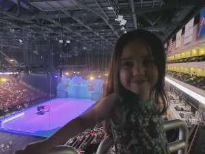 Shelby  attended Disney on Ice Presents Mickey's Search Party on Jun 13th 2021 via VetTix