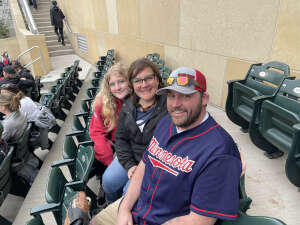 Dustin Johnson attended Minnesota Twins vs. Kansas City Royals - MLB on May 30th 2021 via VetTix
