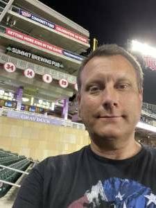 Dave attended Minnesota Twins vs. New York Yankees - MLB on Jun 8th 2021 via VetTix
