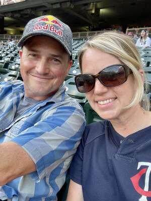 Scott attended Minnesota Twins vs. New York Yankees - MLB on Jun 8th 2021 via VetTix