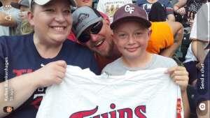 Angie attended Minnesota Twins vs. New York Yankees - MLB on Jun 9th 2021 via VetTix