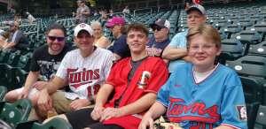 Rob Hodge attended Minnesota Twins vs. New York Yankees - MLB on Jun 9th 2021 via VetTix
