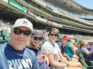 TimG attended Minnesota Twins vs. Houston Astros - MLB on Jun 13th 2021 via VetTix