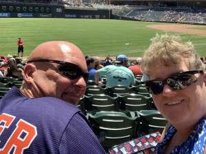 Angie attended Minnesota Twins vs. Houston Astros - MLB on Jun 13th 2021 via VetTix