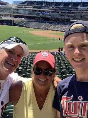 Jim M attended Minnesota Twins vs. Houston Astros - MLB on Jun 13th 2021 via VetTix