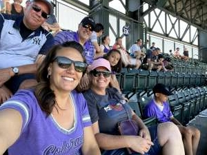 Chris F attended Colorado Rockies vs. Texas Rangers - MLB on Jun 3rd 2021 via VetTix