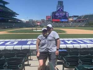 Randy Mitchell attended Colorado Rockies vs. Texas Rangers - MLB on Jun 3rd 2021 via VetTix