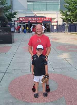 Chris attended Washington Nationals vs. Miami Marlins - MLB on Jul 19th 2021 via VetTix