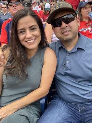 Edgar attended Washington Nationals vs. Miami Marlins - MLB on Jul 21st 2021 via VetTix