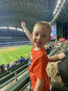 Tim attended Milwaukee Brewers vs. Arizona Diamondbacks - MLB on Jun 3rd 2021 via VetTix