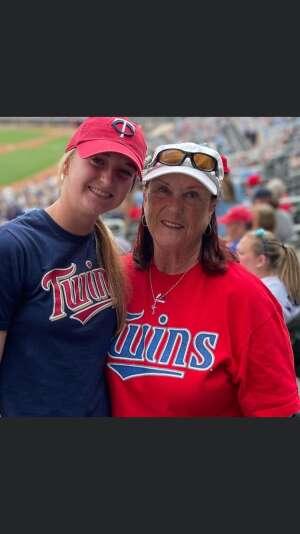 Bill attended Minnesota Twins vs. Detroit Tigers - MLB on Jul 9th 2021 via VetTix