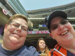 Jane attended Minnesota Twins vs. Detroit Tigers - MLB on Jul 11th 2021 via VetTix