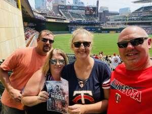 Tyal Rule attended Minnesota Twins vs. Detroit Tigers - MLB on Jul 11th 2021 via VetTix