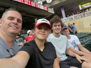 Mark attended Minnesota Twins vs. Los Angeles Angels - MLB on Jul 23rd 2021 via VetTix
