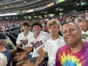 Dave attended Minnesota Twins vs. Los Angeles Angels - MLB on Jul 23rd 2021 via VetTix