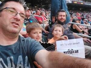 Shawn Smith attended Minnesota Twins vs. Los Angeles Angels - MLB on Jul 24th 2021 via VetTix