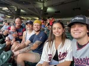 Scott attended Minnesota Twins vs. Los Angeles Angels - MLB on Jul 24th 2021 via VetTix
