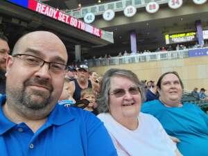 Michael attended Minnesota Twins vs. Los Angeles Angels - MLB on Jul 24th 2021 via VetTix