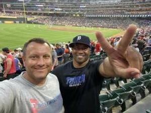 Dave attended Minnesota Twins vs. Los Angeles Angels - MLB on Jul 24th 2021 via VetTix