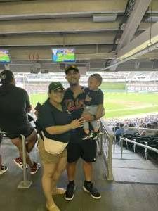 Cruz Family attended Minnesota Twins vs. Los Angeles Angels - MLB on Jul 24th 2021 via VetTix