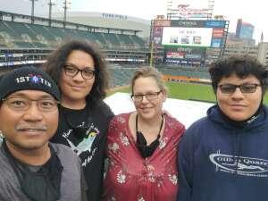 Eric S. attended Detroit Tigers vs. Seattle Mariners - MLB on Jun 8th 2021 via VetTix