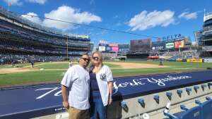 James attended New York Yankees vs. Tampa Bay Rays - MLB - Premium Seating on May 31st 2021 via VetTix