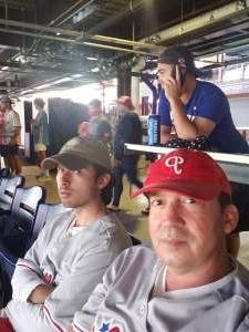 Mike attended Philadelphia Phillies vs. Atlanta Braves - MLB on Jun 8th 2021 via VetTix