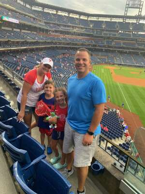 MarkHoff3630 attended Philadelphia Phillies vs. Atlanta Braves - MLB on Jun 8th 2021 via VetTix