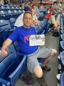 Marc M attended Philadelphia Phillies vs. Atlanta Braves - MLB on Jun 8th 2021 via VetTix