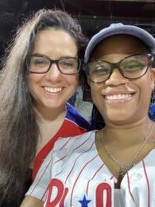 Butterfly  attended Philadelphia Phillies vs. Atlanta Braves - MLB on Jun 8th 2021 via VetTix