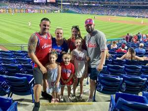 Ricky attended Philadelphia Phillies vs. Atlanta Braves - MLB on Jun 9th 2021 via VetTix