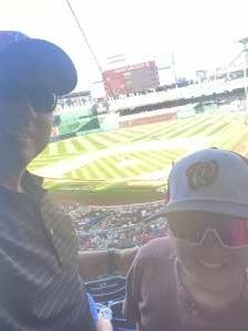 ER attended Washington Nationals vs. Pittsburgh Pirates - MLB on Jun 16th 2021 via VetTix