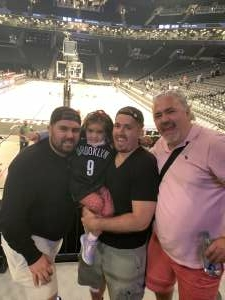 Stephania Jimenez attended Brooklyn Nets vs. Milwaukee Bucks - NBA - Second Round Playoffs! Game 1 ** Vaccinated Fan Section Only ** on Jun 5th 2021 via VetTix