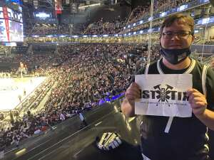 Brian Adams  attended Brooklyn Nets vs. Milwaukee Bucks - NBA - Second Round Playoffs! Game 1 ** Vaccinated Fan Section Only ** on Jun 5th 2021 via VetTix