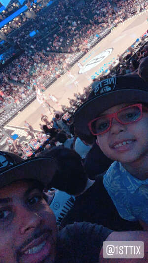 Jamil Ali attended Brooklyn Nets vs. Milwaukee Bucks - NBA - Second Round Playoffs! Game 1 ** Vaccinated Fan Section Only ** on Jun 5th 2021 via VetTix