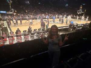 Charles attended Brooklyn Nets vs. Milwaukee Bucks - NBA - Second Round Playoffs! Game 1 ** Vaccinated Fan Section Only ** on Jun 5th 2021 via VetTix