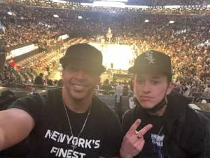Ace attended Brooklyn Nets vs. Milwaukee Bucks - NBA - Second Round Playoffs! Game 1 ** Vaccinated Fan Section Only ** on Jun 5th 2021 via VetTix