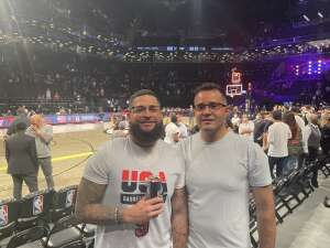 Rich attended Brooklyn Nets vs. Milwaukee Bucks - NBA - Second Round Playoffs! Game 1 ** Vaccinated Fan Section Only ** on Jun 5th 2021 via VetTix