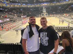 Chris Buonanno attended Brooklyn Nets vs. Milwaukee Bucks - NBA - Second Round Playoffs! Game 1 ** Vaccinated Fan Section Only ** on Jun 5th 2021 via VetTix