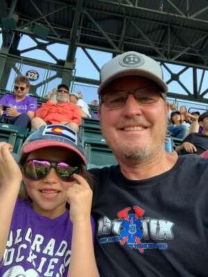 Larry attended Colorado Rockies vs. San Diego Padres on Jun 15th 2021 via VetTix