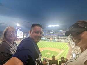 casias attended Colorado Rockies vs. Milwaukee Brewers - MLB on Jun 17th 2021 via VetTix