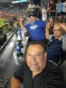 LCA attended Arizona Diamondbacks vs. Los Angeles Dodgers - MLB on Jun 18th 2021 via VetTix