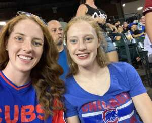 Shannon attended Arizona Diamondbacks vs. Chicago Cubs - MLB on Jul 16th 2021 via VetTix