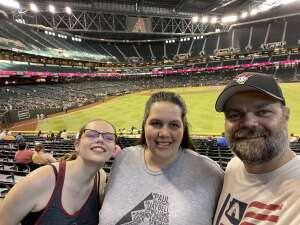 John attended Arizona Diamondbacks vs. Pittsburgh Pirates - MLB on Jul 19th 2021 via VetTix